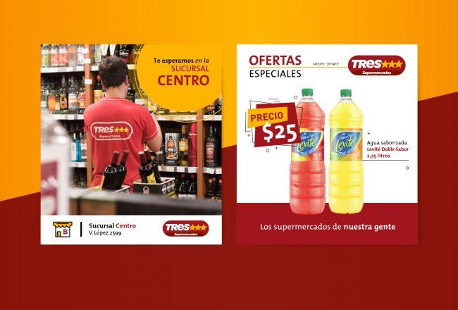 Supermercados Tres Estrellas